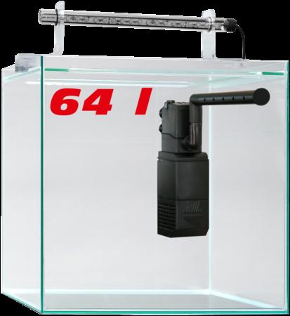 SERA Scaper Cube 64 l - Starterset