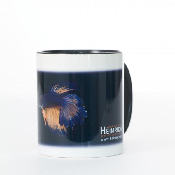 Foto-Tasse - Kampffisch Halfmoon Rosetail Blue