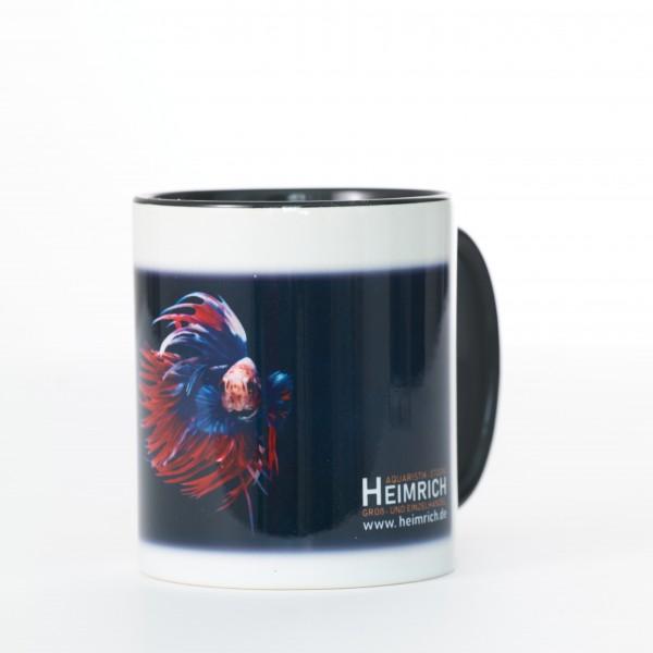 Foto-Tasse - Kampffisch Crowntail Fancy Red-Blue