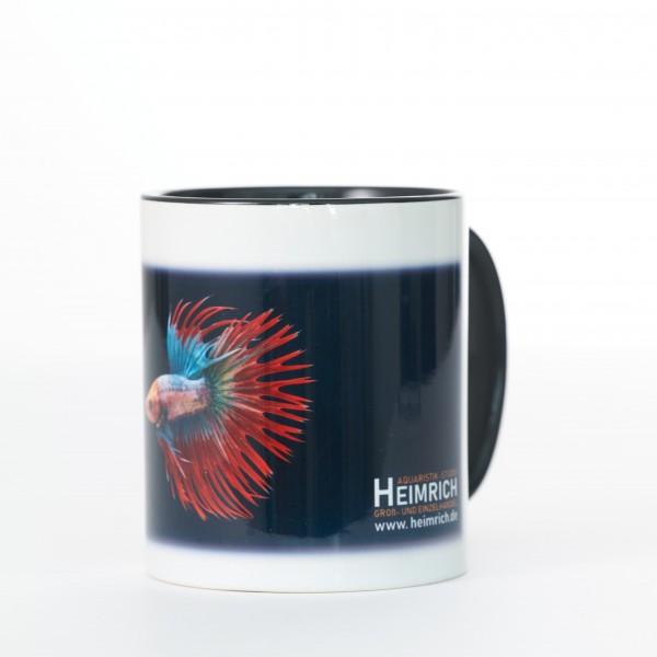 Foto-Tasse - Kampffisch Crowntail Fancy